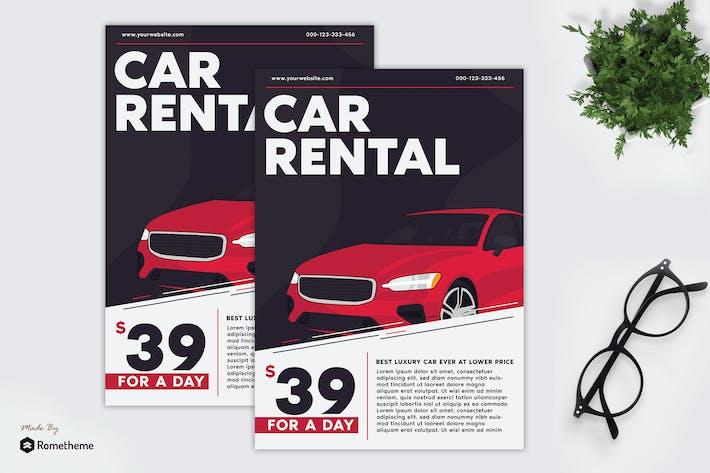 Car Rental - Flyer GR