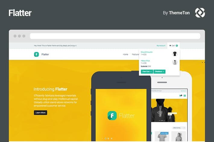 Thumbnail for Flatter - Multi-Purpose Theme for Your Creativity