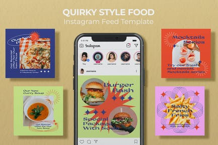 Quirky Style  Food - Instagram Feed