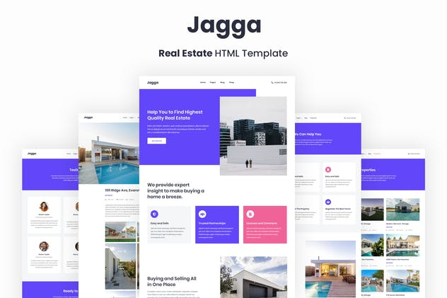 Jagga – Real Estate HTML Template