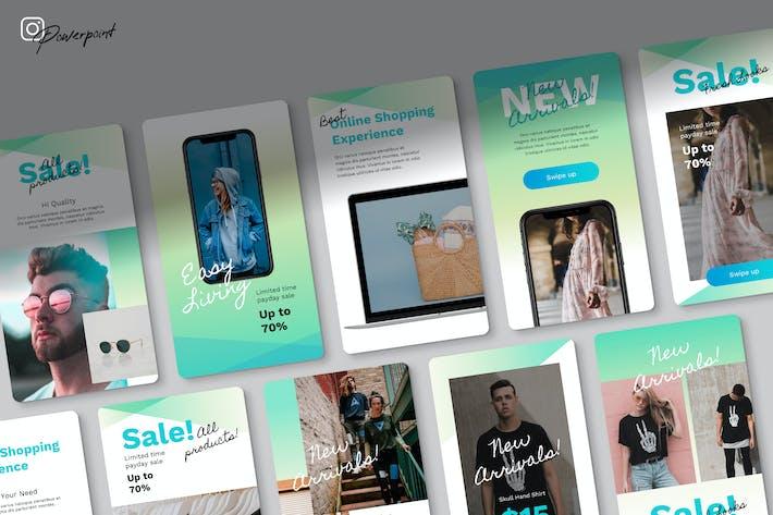 Thumbnail for Elegi - Instagram Kit Powerpoint Template