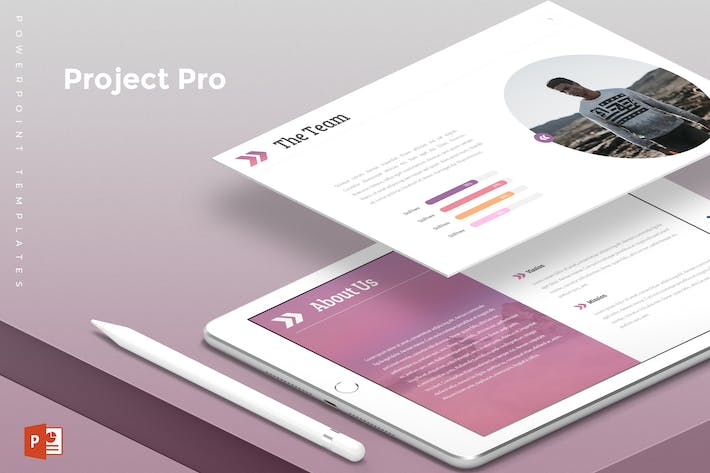 Thumbnail for Project Pro - Powerpoint Template