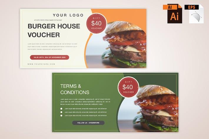 Burger Gift Voucher