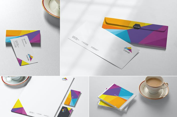 Thumbnail for Stationery mock ups