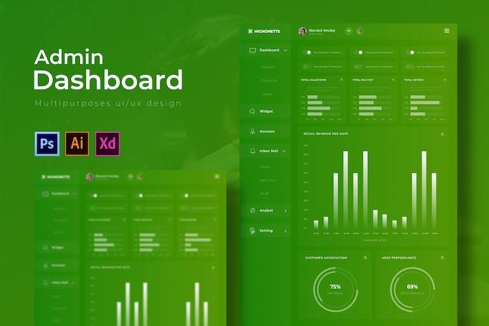 Thumbnail for Mignonette Dashboard | Admin Template