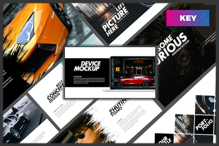 Thumbnail for Furious - Sport Keynote Template