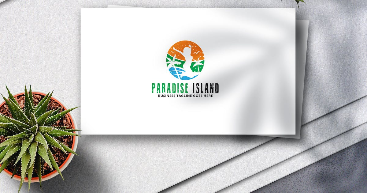 Download Paradise Island Logo by Voltury