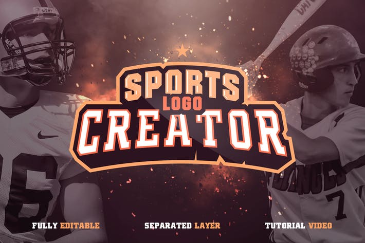 Thumbnail for Sports Logo Creator V1