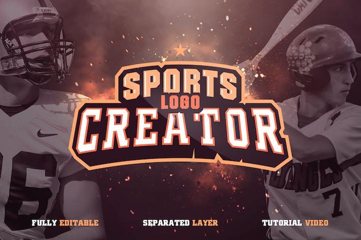 Thumbnail for Sports Logo Creator V1