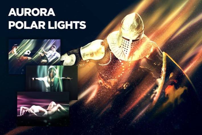 Thumbnail for Aurora - Polar Lights CS3+ Photoshop Action