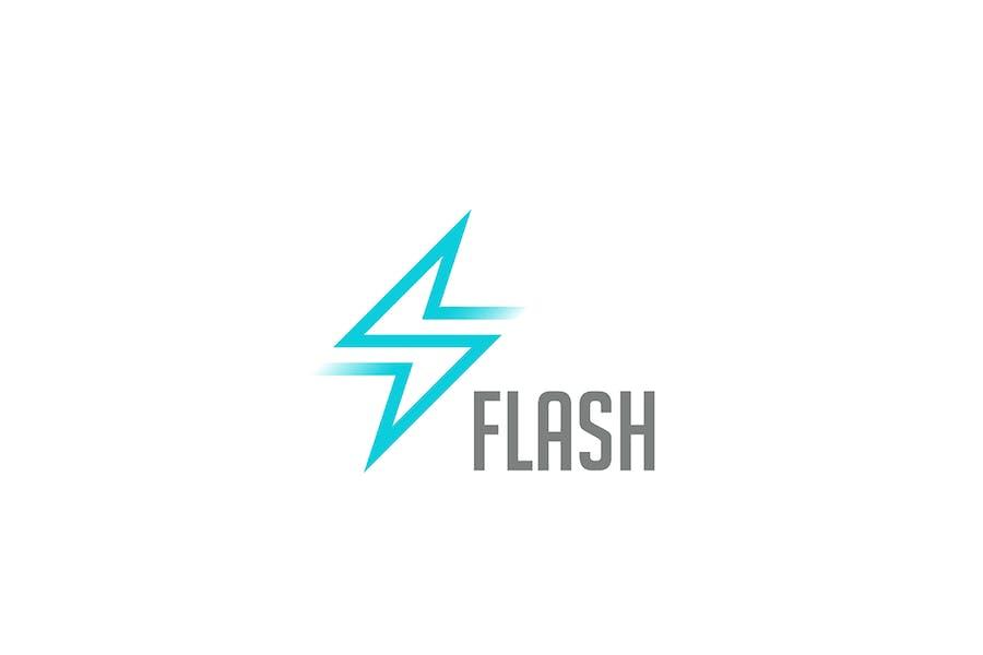 Logo Flash Energy Power