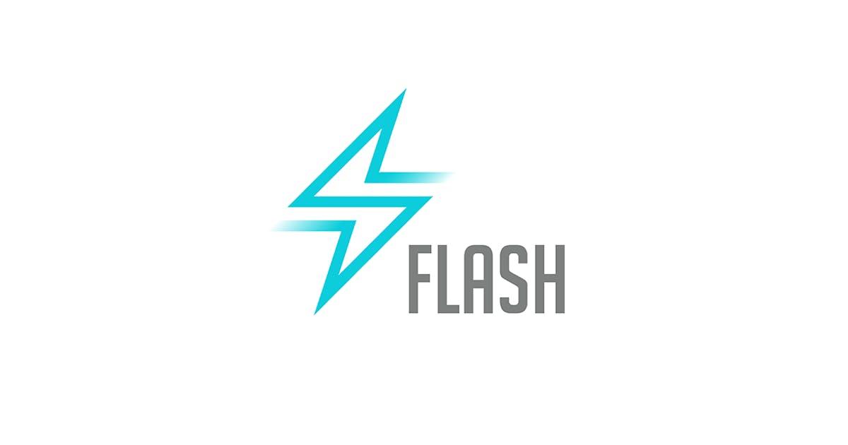 Download Logo Flash Energy Power by Sentavio
