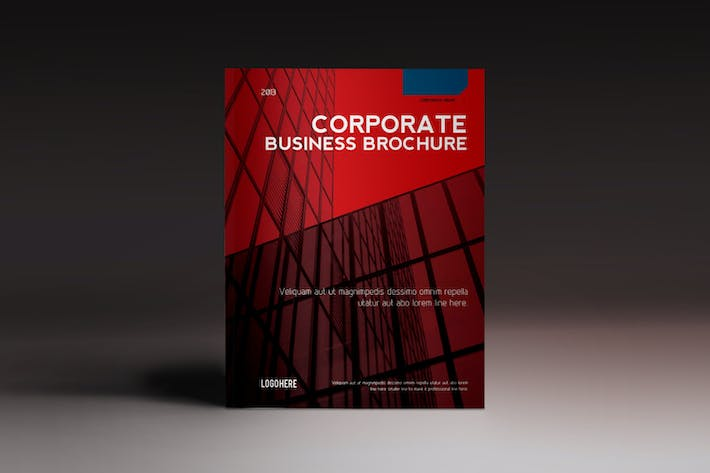 Thumbnail for Corporate Brochure Indesign Template