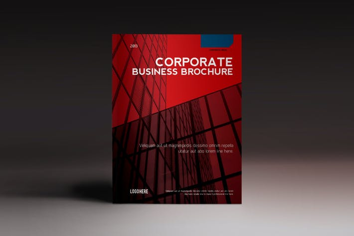 Corporate Brochure Indesign Template By Luuqas On Envato Elements
