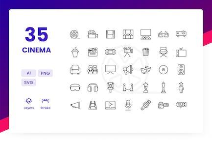 Cinema - Icons Pack