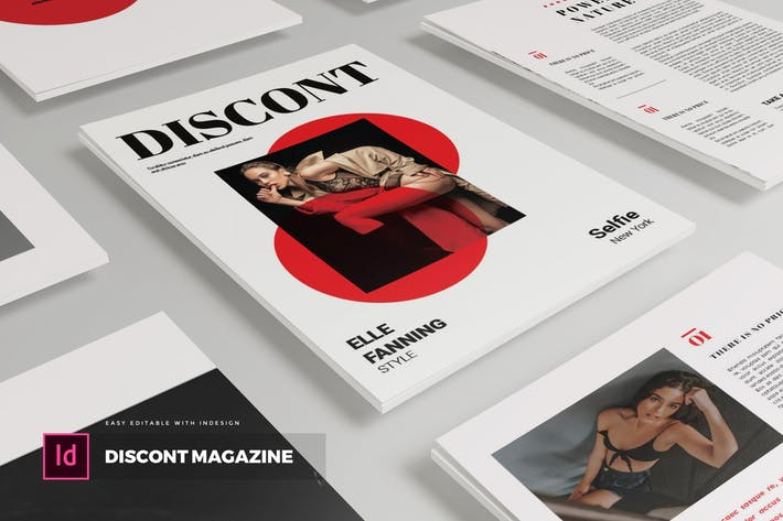 Thumbnail for Discont | Magazine Template