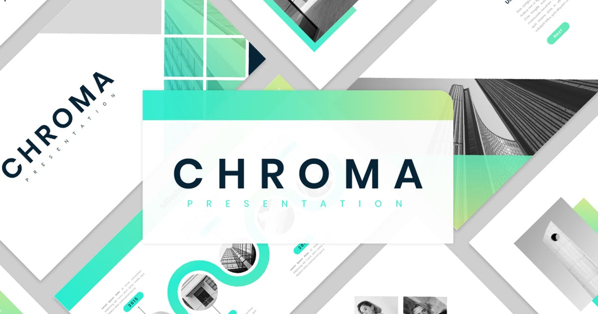 Download Chroma Powerpoint by VisualColony