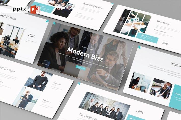 Thumbnail for MODERN BIZZ - Powerpoint V311