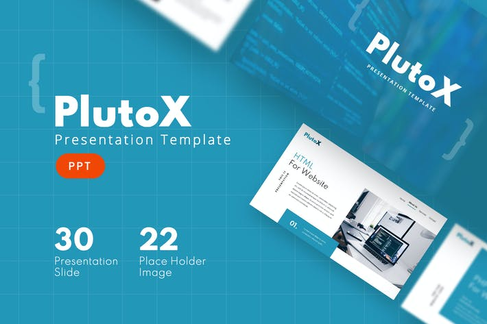Thumbnail for PluTox - Web Powerpoint-Vorlage