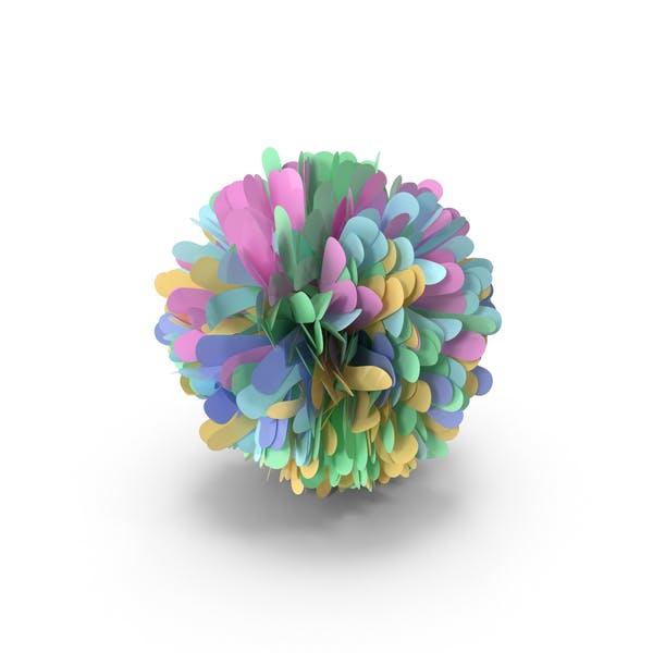 Разноцветный пом-пом