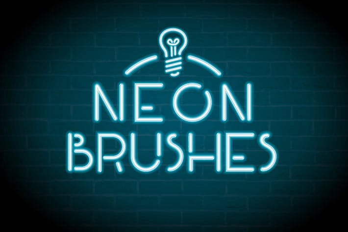 Thumbnail For Neon Brushes