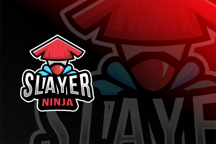 Thumbnail for Slayer Ninja Esport Logo Template