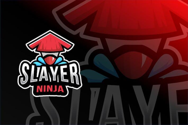 Thumbnail for Slayer Ninja Esport Logo Template