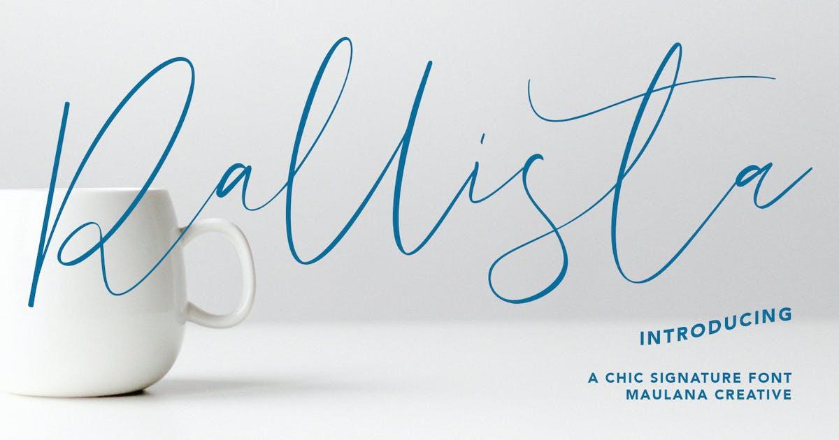 Download Rallista Chic Signature Font by maulanacreative
