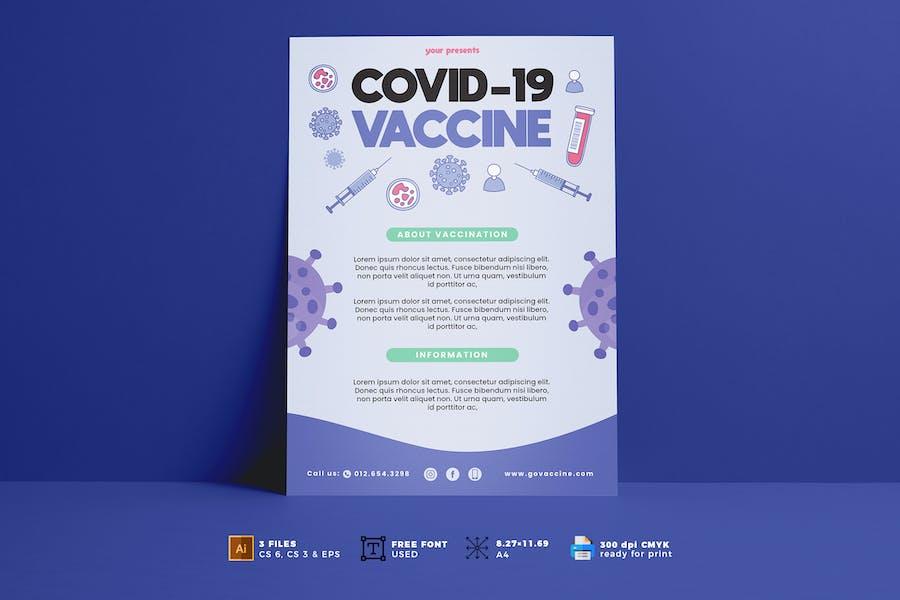 Covid Vaccine Flyer Vol. 01
