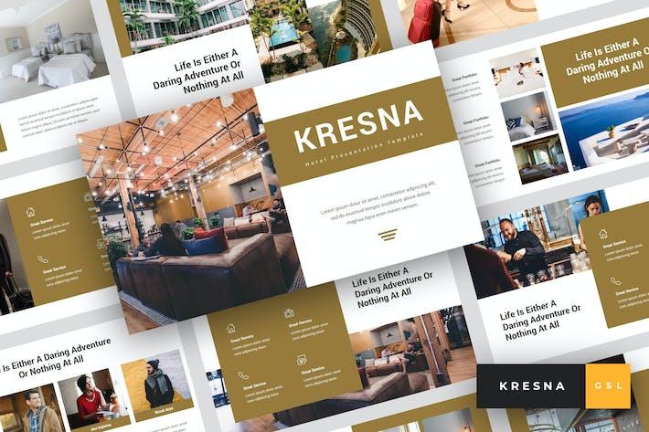 Thumbnail for Kresna - Hotel Google Slides Template