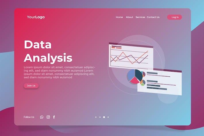 Data Analysis - Banner & Landing Page