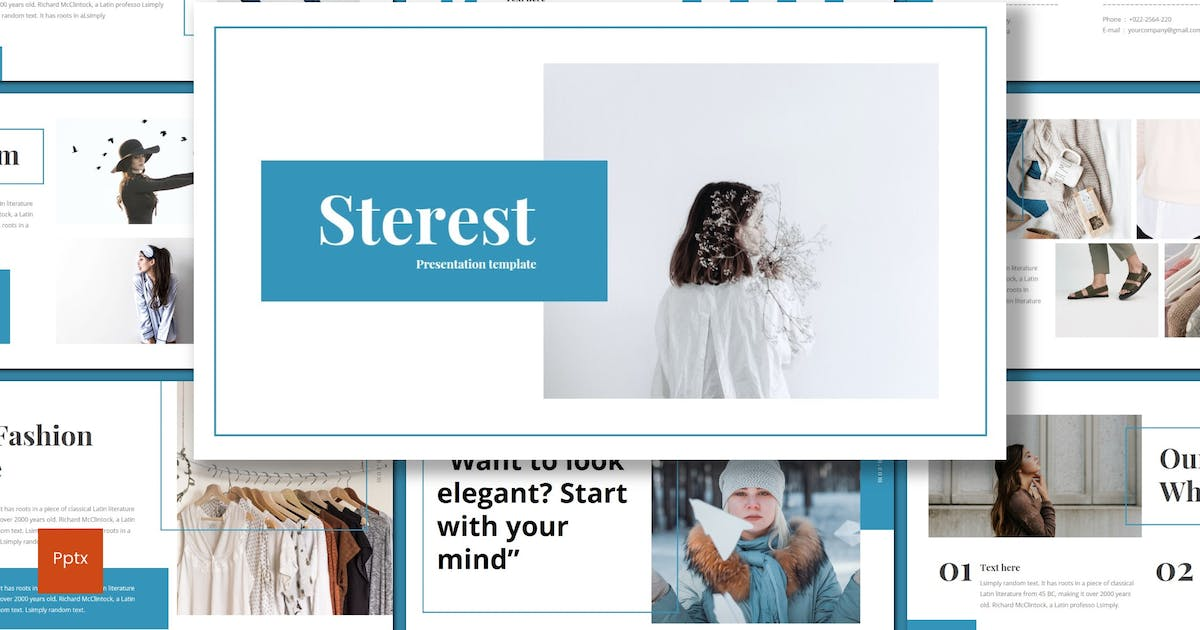 Download Sterest - Powerpoint Template by inspirasign