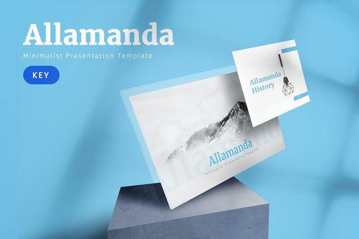 Thumbnail for Allamanda - Multipurpose Keynote Template