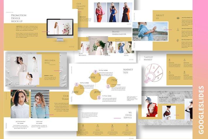 Thumbnail for Armwrestle Fashion Ecommerce Googleslides