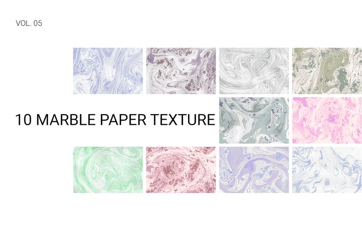 Thumbnail for Marble Paper Texture Vol. 05
