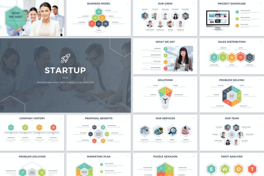 startup pitch deck google slides template by jafardesigns on envato