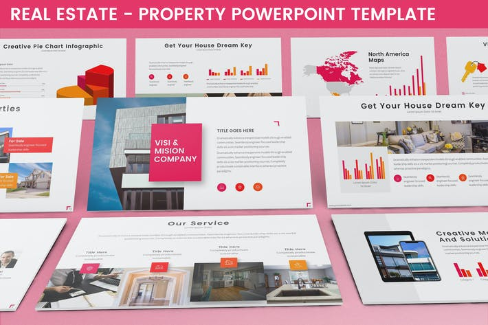 Thumbnail for Real Estate - Property Powerpoint Template