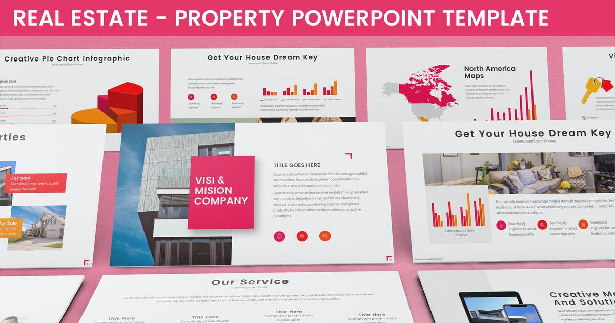 Download Real Estate - Property Powerpoint Template by SlideFactory