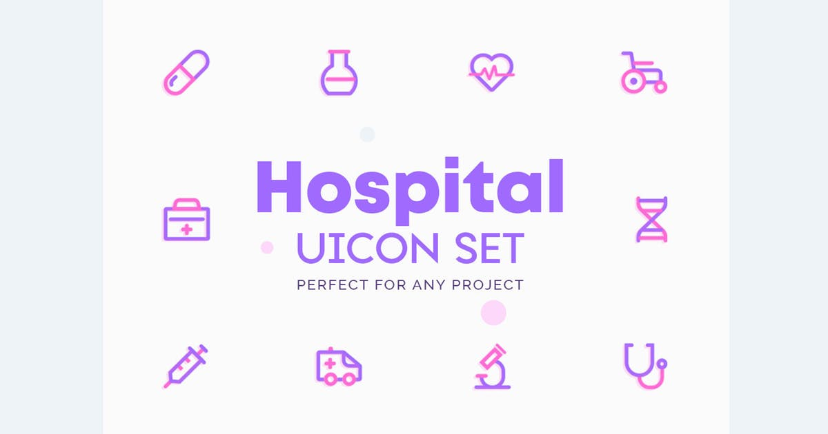 Download UICON Hospital Icons by NEWFLIX