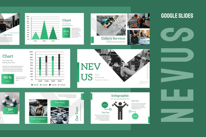 Thumbnail for Nevus Gym Google Slides Presentation