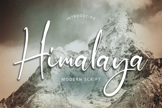 Himalaya Modern Script Font - product preview 6