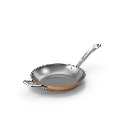 Kupfer-Küchen-Pfanne