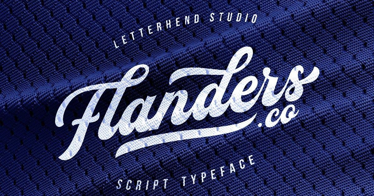 Download Flanders Script by letterhend