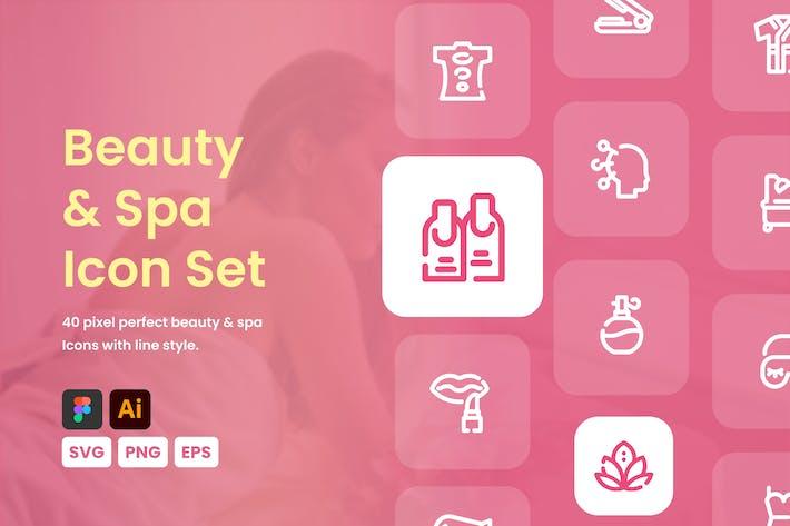 Beauty & Spa-Icon-Set