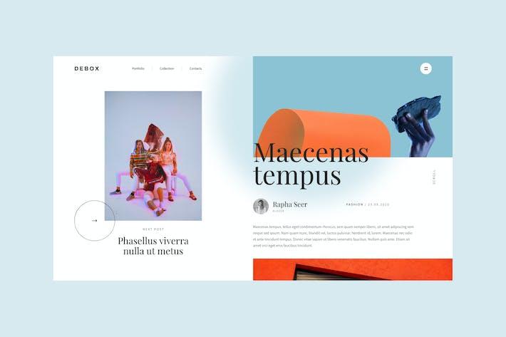 Thumbnail for Debox – color content block