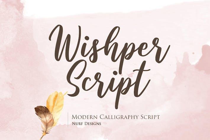 Thumbnail for Script de Wishper