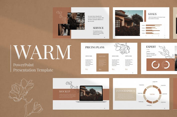 Thumbnail for Modern Business PowerPoint Presentation Template