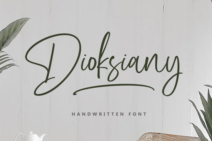 Thumbnail for Dioksiany Font!