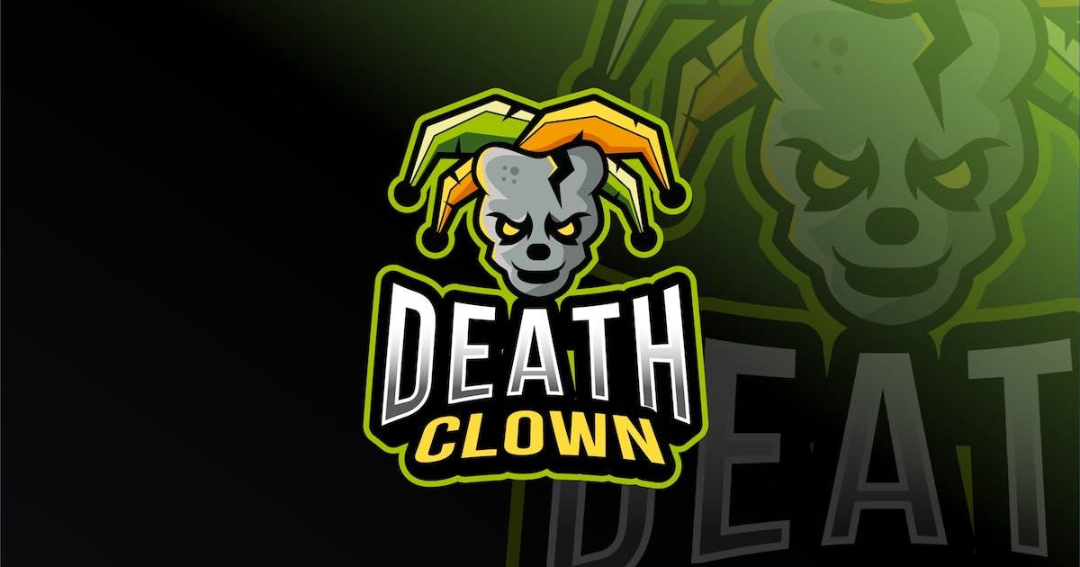 Download Death Clown Esport logo Template by IanMikraz