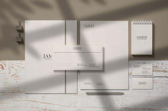 Thumbnail for Stationery Branding Mockup